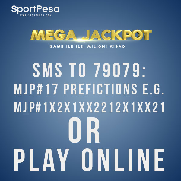 SPORTPESA MEGAJACKPOT prediction bet double chance