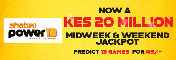 Shabiki Power13 Midweek Jackpot Games Tips Dec 7 2019